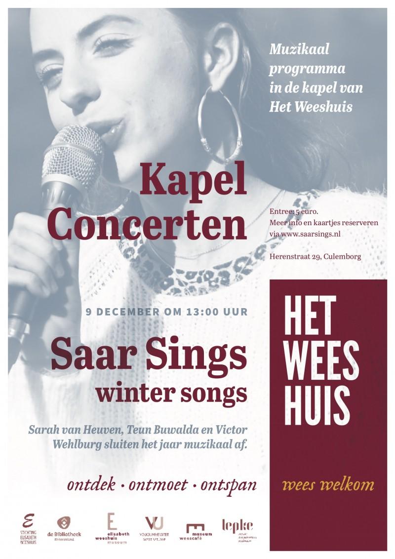 Saar sings_affiche december